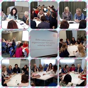 Forumo kryptis – mokytis kurti pozityvią emocinę aplinką ir įkvėpti vieni kitus sėkmingai dirbti