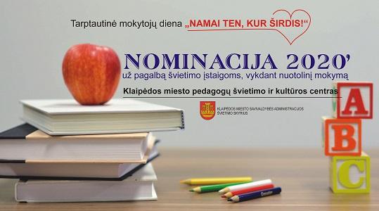 Apdovanotos Klaipėdos miesto švietimo įstaigos