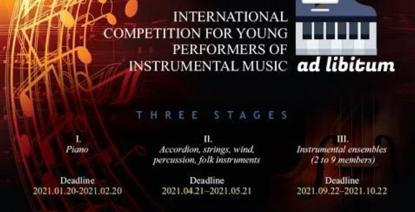 """Tarptautinis konkursas """"Ad libitum"""""""